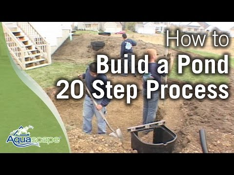 How To Build a Pond - Aquascape 20-Step Process Overview