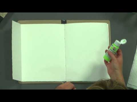 Getting Started In Art Journaling - Three Simple Steps