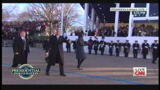 President Obama & Michelle Obama Inaugural Parade Walk Pennsylvania Avenue (January 21, 2013) [2/2]