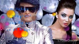 2.0 enthira logathu sunthari song with lyrics