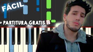 Sebastián Yatra Devuélveme El Corazón Piano Tutorial Notas Musicales Midi Karaoke Cover