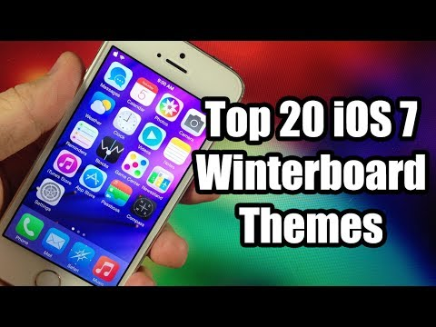 Top 20 Best iOS 7 Winterboard Themes