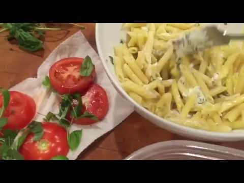 Easy way to dress up leftover pasta