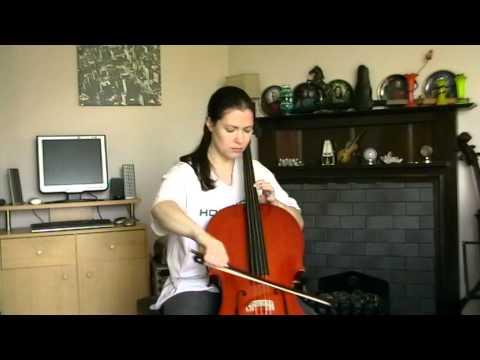 Gear4Music Cello Clip 1