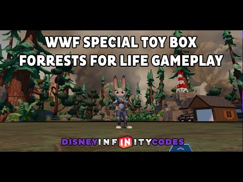 Forrests For Life WWF Special Access Mobile App Toy Box - Disney Infinity 3.0
