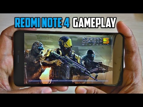 Redmi Note 4X Extreme Gaming Review / Test with Heating Check