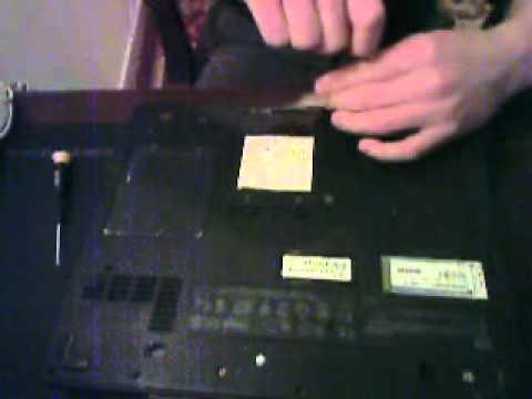 Remove Hard Drive from Compaq Presario 2100 Laptop