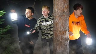 We LOST Colby In Haunted Witches Forest