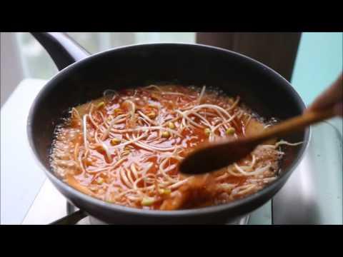Cháo Kim Chi Hàn Quốc/ Kimchi Juk/ Kimchi Rice Porridge - Ẩm Thực Hàn Quốc Korean Food