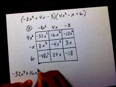 Multiply Polynomials Part 3