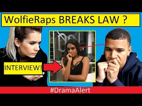 WolfieRaps Sidechick ( INTERVIEW ) #DramaAlert Says Wolfie Broke the LAW!