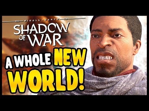 NEW LAND GAVE ME WORMS   Middle Earth: Shadow of War - Desolation Of Mordor Funny Moments Gameplay