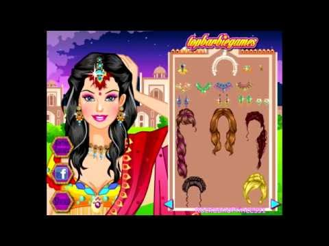 Barbie Games Barbie Indian Saree Dressup Game