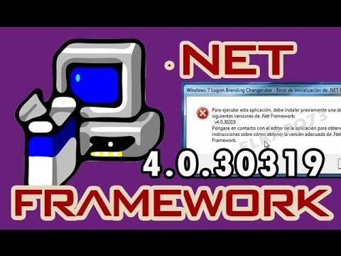 DESCARGAR Net Framework 4.0.30319 (MEGA) para Windows XP/7/8 [2017]