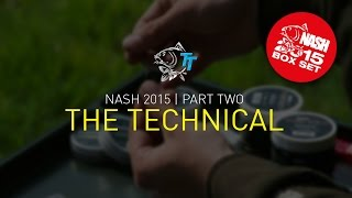 Nash 2015 DVD BOX SET PART 2, Film 3 THE TECHNICAL + SUBTITLES Carp Fishing Tackle and Rigs