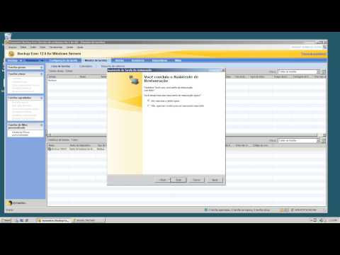 Backup and Restore with Symantec Backup Exec 2012