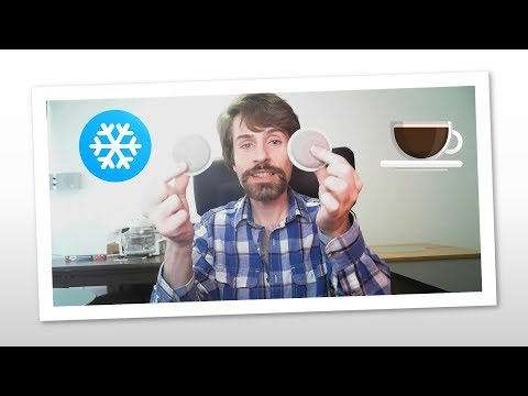 Does it work?? Cold Brew Coffee with Senseo Koffiepad (Coffee Pad) - 1st Part ❄🍵