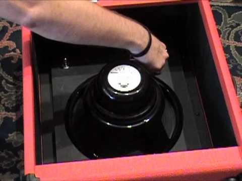 Burris Amplifiers DC CAB quick change 112 guitar speaker cabinet review