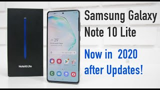 Samsung Galaxy Note 10 Lite Now in Mid 2020 (With Updates)