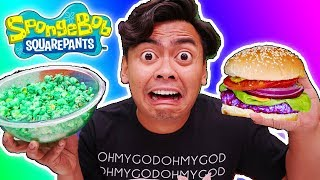 Download I Only Ate SPONGEBOB FOODS for 24 Hours Video