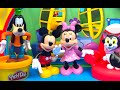 Mickey Mouse Clubhouse part 1 of 6 with Minnie Mouse Goofy Figaro and Playdoh Play