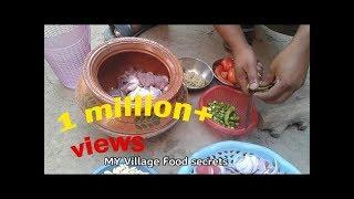 Karahi Gosht Mitti ki handi Recipe Village Style❤ My Village Food Secrets