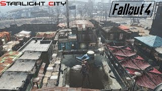 fallout 4 huge realistic city at starlight drive in bett