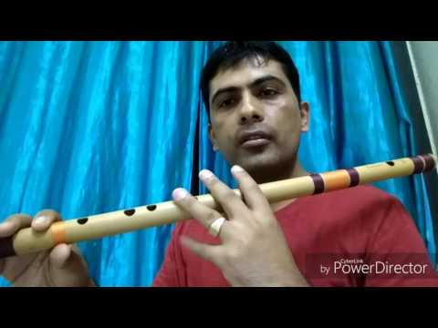 Introduction to octaves, sargam, blowing technique and how to practice in flute in Nepali language