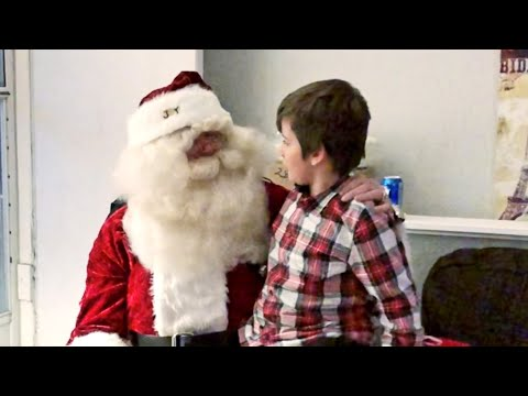 Real Santa Claus Crashes Family Christmas Party To Tell Leland To Clean His Room