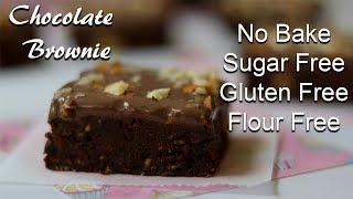 Grain Free Chocolate Brownies, Sugar Free, - PakVim net HD
