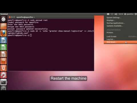 Ubuntu 12.04 - Enabling Root