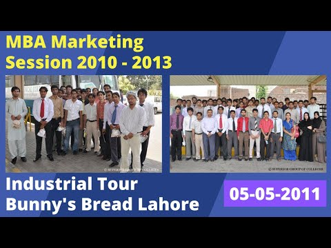 Bunny's Bread Industry (pvt) Lahore   MBA Industrial Tour   Superior University Lahore