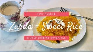 Zarda - Sweet Rice