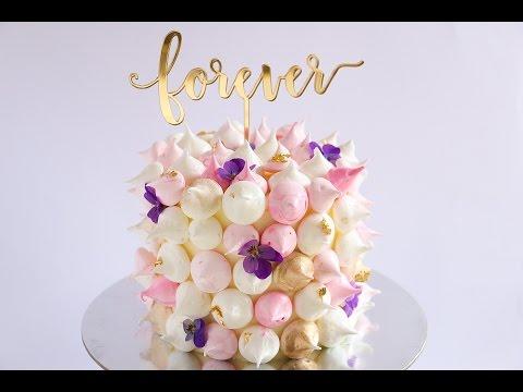 Mini Meringue Covered Cake Tutorial- Rosie's Dessert Spot