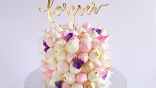 Mini Meringue Covered Cake Tutorial Rosie S Dessert Spot