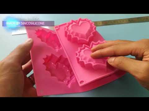 silicone heart mould asda / heart shaped silicone mold amazon