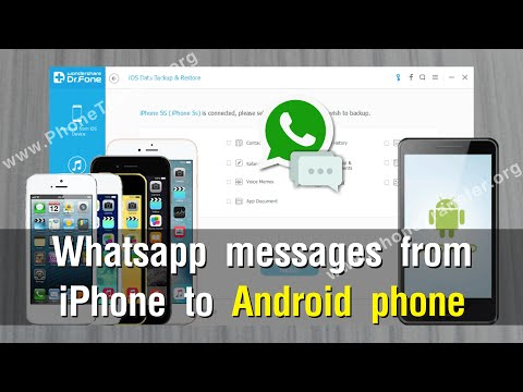 How to Transfer Whatsapp messages from iPhone to Android Effortlessly