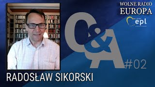Radosław Sikorski Q&A #2, 24.04.2020