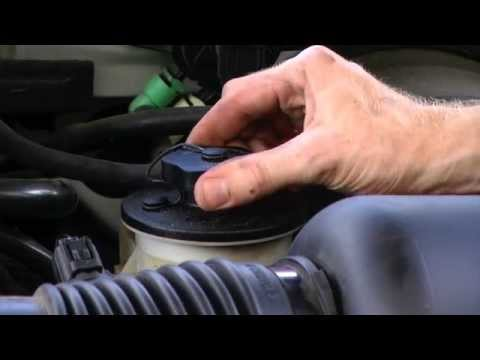 How to Check Power Steering Fluid - 2001 Ford F150