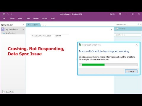 Fix All OneNote Issue Not Responding, Data Sync, Stop Working