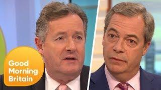 Nigel Farage Says the UK
