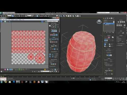 Unwrapping and Applying Materials in 3DsMax
