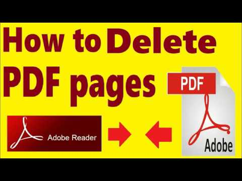 How to Delete PDF PAGES from PDF File Without any Software
