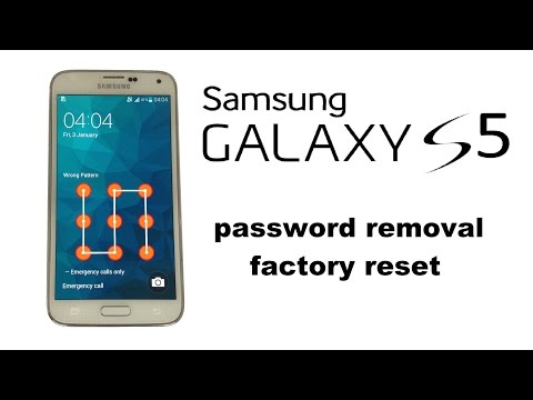Samsung GALAXY S5 S4 A7 A5 A3 Factory Reset, Unlock Password / Screen Lock, Factory / Hard Reset