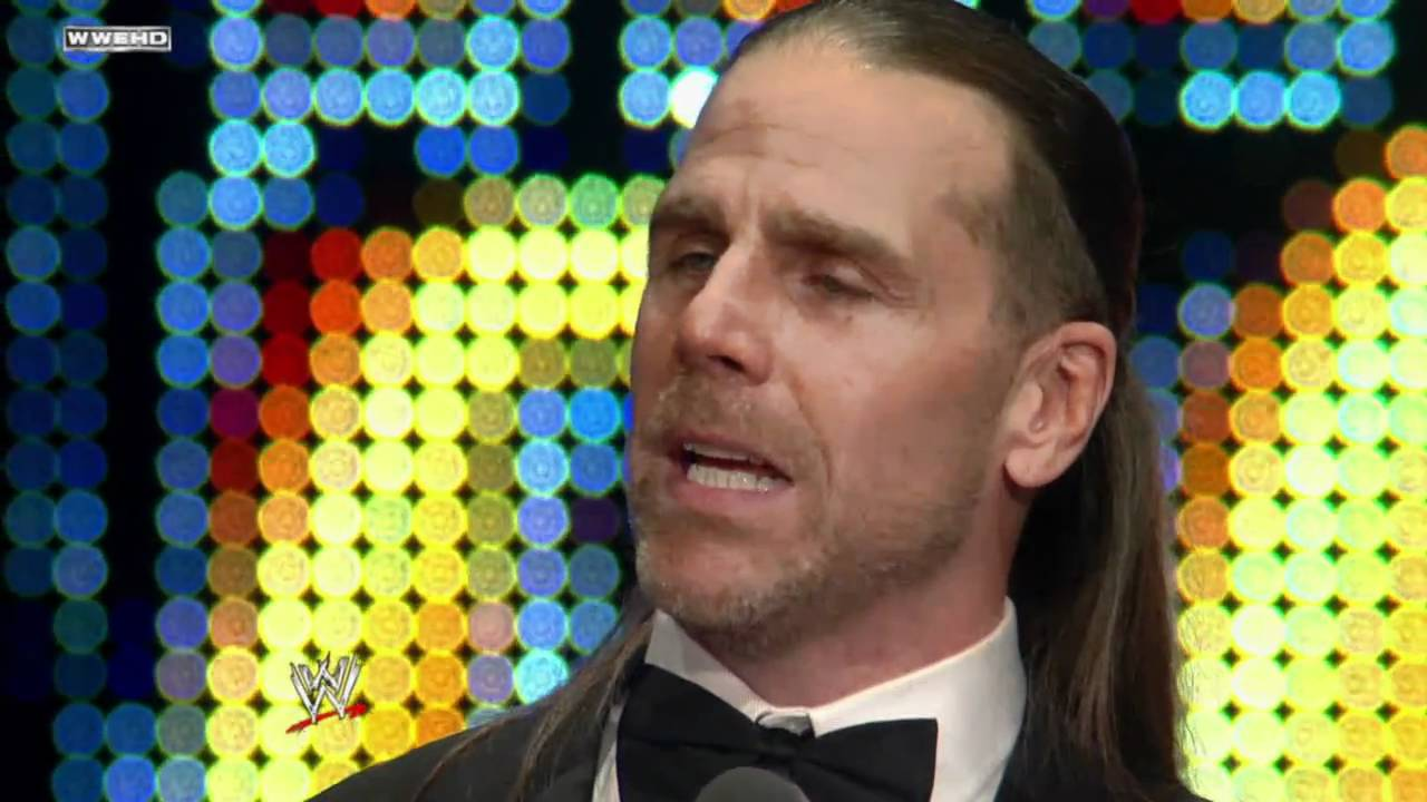 Hall of Fame: Shawn Michaels speaks at the WWE Hall of Fame