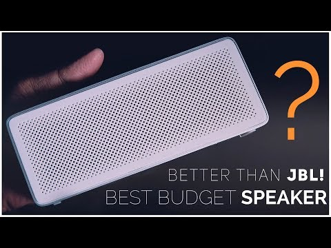 Xiaomi Square Box 2 Bluetooth Speaker// Review - Best Under $25   Better than JBL Go Portable!?