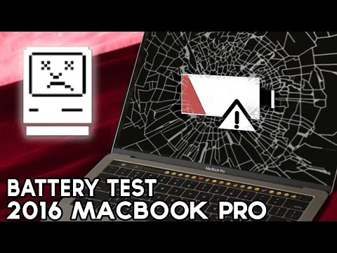 2016 MacBook Pro battery life Test (The Follow Up)