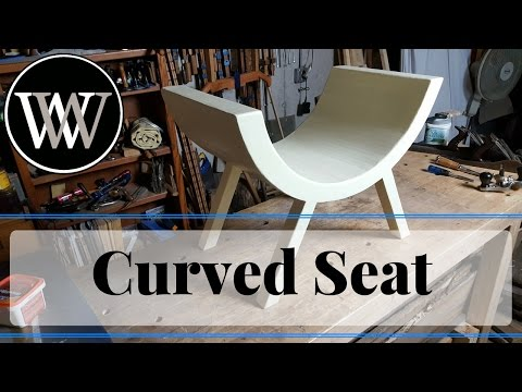 How to Make a Curved Seat For a Photo Studio Infant Pictures Prop