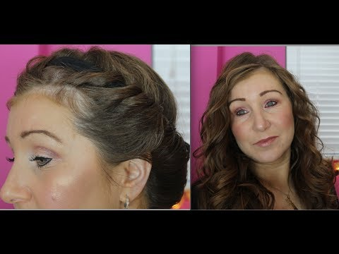 How to curl your hair without heat - tight curls