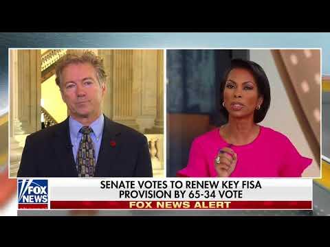 Senator Rand Paul discusses Spending on Fox News